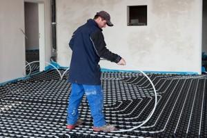 Instalaltion du chauffage au sol