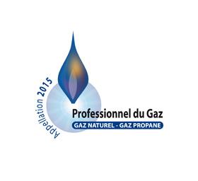 Logo Certification Professionnel du Gaz
